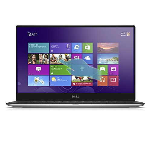 DELL XPS XPS9350-4007SLV 13.3-Inch Touchscreen (Intel Core i5 6200U 2.30 GHz Processor, 8 GB LPDDR3 RAM, 256 GB Hard Drive, Windows 10 Home), Machined Aluminum, VIDEO editing laptop