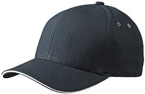 Myrtle Beach Uni Cap Flexfit Ripstop  Sandwich, black/cream, S/M, MB6187 blcr