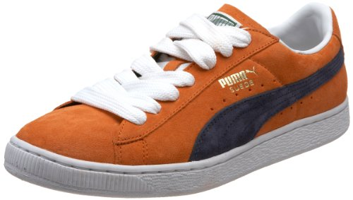 Puma Men''s Archive NM Fashion Sneaker,Team Orange/Mood Indigo,4 D US