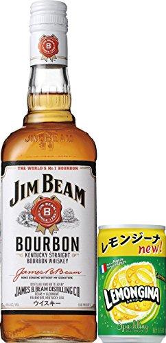 バーボンウイスキー ジムビーム700ml (レモンジーナ付き)
