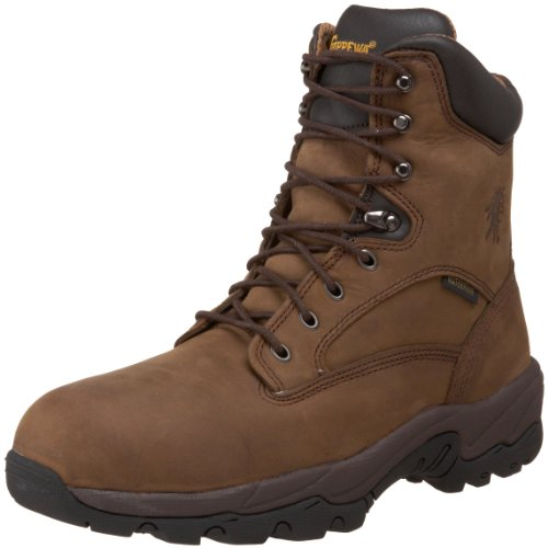 "Chippewa Men's 55168 IQ-8"" Waterproof Insulated Composite Toe Boot,Apache,10.5 XW US"