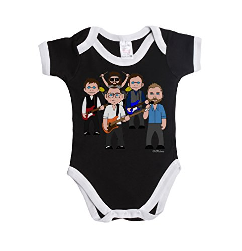 Vipwees Ohio Buzzers Baby Grow Vest Retro Clothes Boys Girls Music Gift
