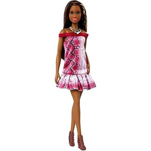 Barbie DGY56 - Fashionistas Moda Pitonata, Multicolore