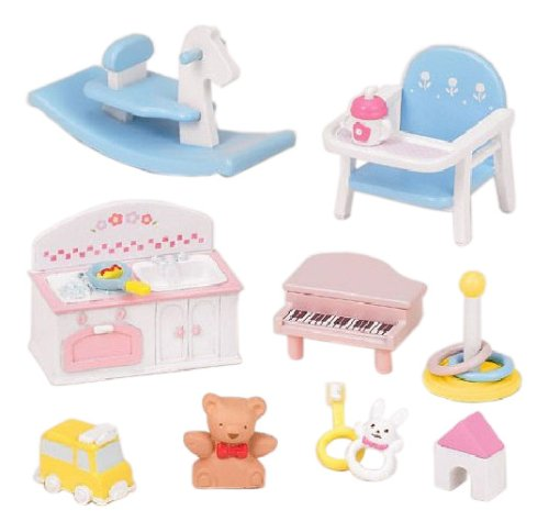"Epoch Sylvanian Families Sylvanian Family Doll ""Baby Toys Set F -211"" - 1"