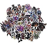 Five Nights at Freddy's Set of 58 Assorted Stickers Decal Set (Color: Multicolor, Tamaño: osfm)