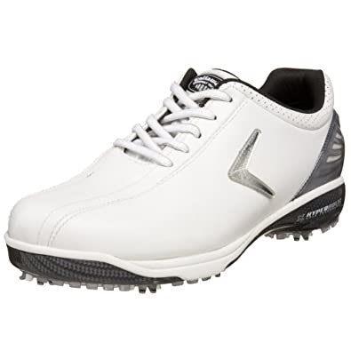 Callaway Women's Hyperbolic Golf Shoe,White/Silver/Black,US Women's 5 M