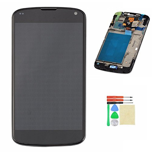 Lcd Touch Screen Digitizer Assembly Frame For Lg E960 Google Nexus 4 With Tools