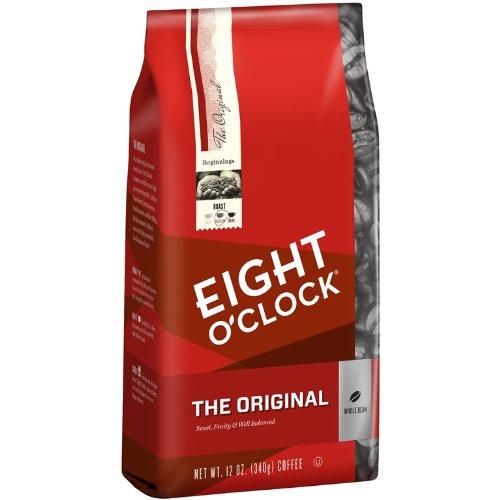 Eight O'Clock The Original Whole Bean Coffee, 12-Ounce Bag (Pack of 6)