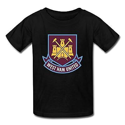 SANMU Kid's West Ham United Fc London Logo T-shirt