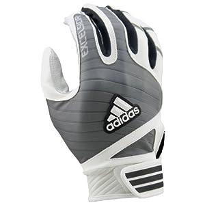 Adidas Excelsior Pro Adult Batting Gloves L23200 (White/Grey, 2X-Large)