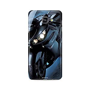Motivatebox - Samsung Galaxy A7 2016 Back Cover - Kawasaki Ninja Polycarbonate 3D Hard case protective back cover. Premium Quality designer Printed 3D Matte finish hard case back cover.