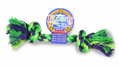 Happy Pet Flossin Fun 2 Knot Rope Toy For Dogs, Large