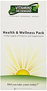 Vitamins On Demand Women's 50+ Health and Wellness Pack