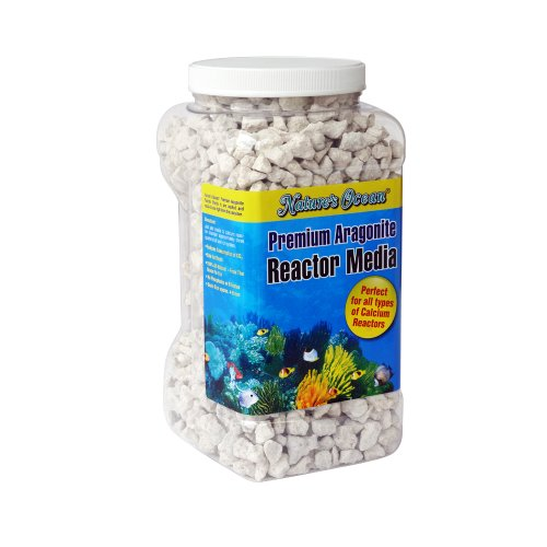 Nature'S Ocean Premium Aragonite Reactor Media For Aquarium, 1-Gallon