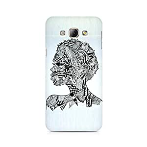 TAZindia Printed Hard Back Case Cover For Samsung Galaxy A8
