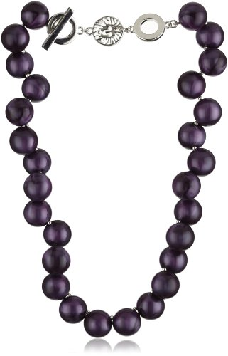 Anne Klein Jordan Amy Colored Beaded Necklace