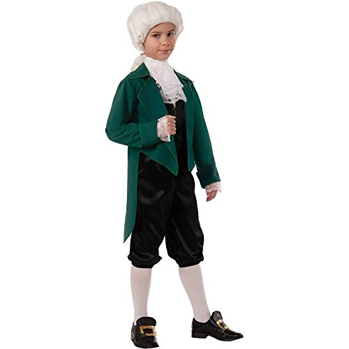 Thomas Jefferson Deluxe Kids Costume
