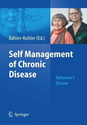 Self Management Of Chronic Disease: Alzheimer'S Disease
