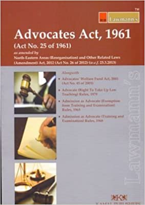 the advocates act of 1961 In 1961, the recommendations of all india bar committee were given legislative effect 2 by the advocates act, 1961, which contains the present law on the subject.