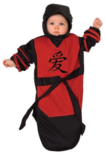 Rubie'S Costume Tyke Or Treat Baby Bunting Costume Ninja Baby, Ninja, 0-9 Months