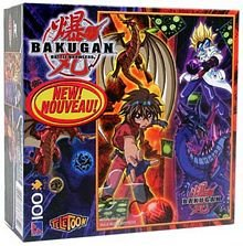 Bakugan Battle Brawlers 100 Piece Puzzle - 'Dan and Masquerade'