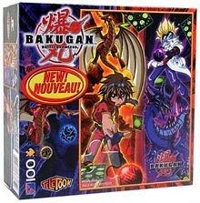 Bakugan Battle Brawlers 100 Piece Puzzle - 'Dan and Masquerade'