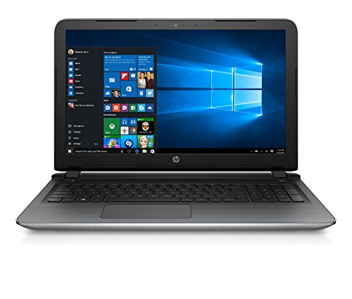 "HP Pavilion 15-ab251nl Notebook, Intel Core i7-6500U, RAM 8 GB, SSD 256 GB, Scheda Grafica nVidia GeForce 940M con 2 GB Dedicati, Display 15.6"", Argento"