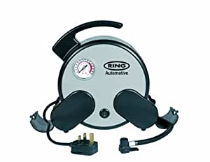Ring Automotive RAC750  Rapid Air Compressor, Incl. Storage Bag 230 V Mains-Powered