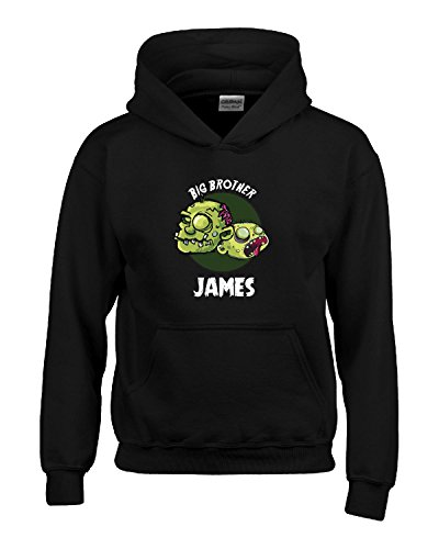 Halloween Costume James Big Brother Funny Boys Personalized Gift - Kids Hoodie