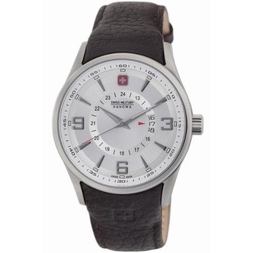 Swiss Military Hanowa Men's 06-4155-04-001.05 Navalus Classic Leather Watch