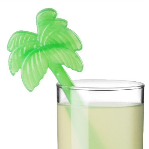 Palm Tree Ice Stirrers - Pack of 12 | Palm Tree