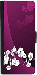 Snoogg Abstract Vector Wallpaper Of Floral Themes In Gradient Purple Graphic ...