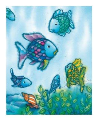 Alexander Hamawi The Rainbow Fish VI Art Print Poster - 10x12