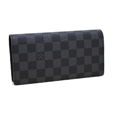 (ルイヴィトン)LOUIS VUITTON N62665 長財布 ダミエ グラフィット ブラザ ファスナー 【並行輸入品】