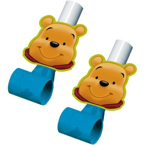 Winnie the Pooh Blowouts / Favors (8ct) - 1