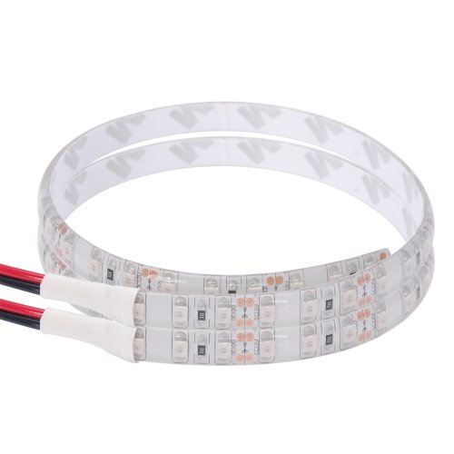 """2X Red Ip65 12"""" 3528 36 Smd Led Flexible Fender Bumper Grille Trunk Foot Area Bright Waterproof Light Strip For Honda Toyota Bmw Benz Audi Vw Nissan Kia"""