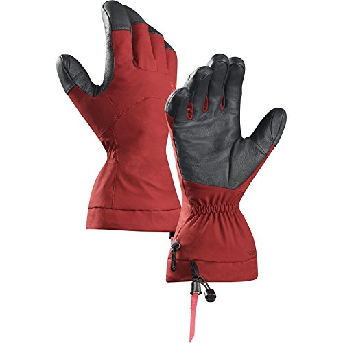 Arcteryx Fission Glove Oxblood Large (Winter Gloves With Removable Tips compare prices)