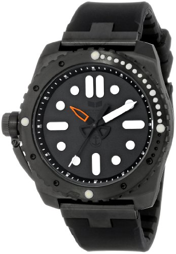 Vestal Men's RED3S02 Restrictor Diver 43 Black Lume Watch