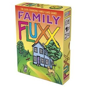 Family Fluxx, Summer Vacation Postcard and Fluxx Blanxx Game Set