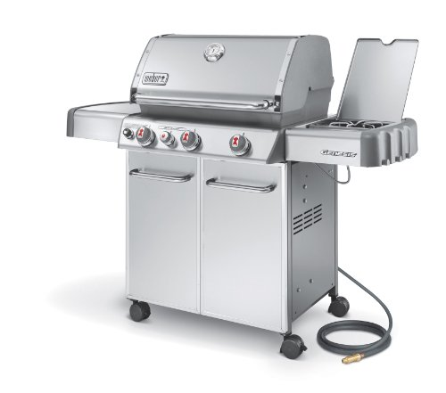 Weber Genesis 6670001 S-330 Stainless-Steel 637-Square-Inch 38,000-BTU Natural-Gas Grill (Best Weber Bbq compare prices)