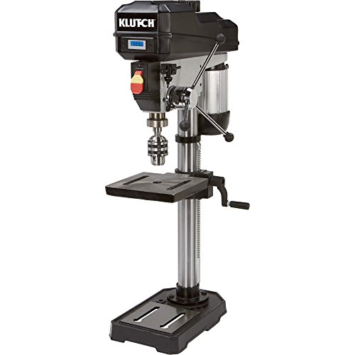 Klutch 12in. Bench Mount Drill Press - 3/4 HP, Variable Speed, Digital Display (Drill Press Benchtop compare prices)