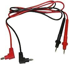 AERZETIX: Cables de multímetro para comprobador de corriente eléctrica
