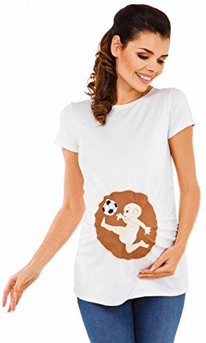 zeta ville maternit top shirt de grossesse motif humour imprim femme 507c. Black Bedroom Furniture Sets. Home Design Ideas