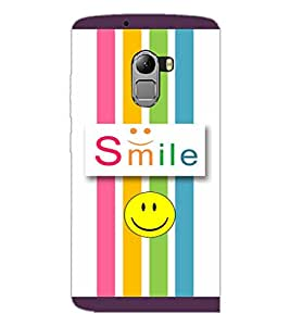 PrintDhaba Quote D-3811 Back Case Cover for LENOVO K4 NOTE A7010 (Multi-Coloured)