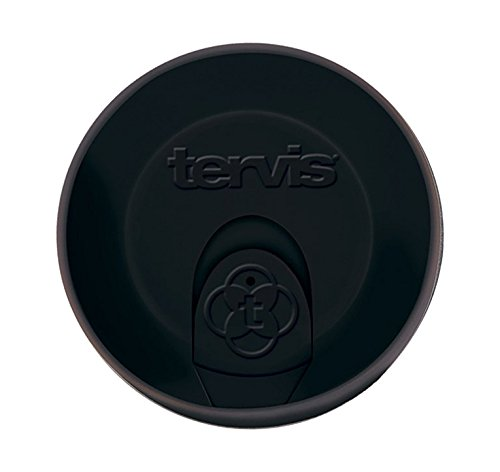 Tervis Travel Lid, 16 oz, Black (16 Ounce Plastic Lids compare prices)