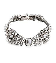 Ben-Amun Bridal Deco Crystal Bracelet…
