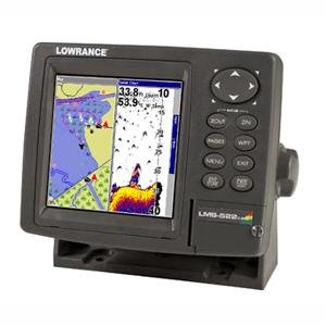 Lowrance Lms - 522c Gps Chartplotter Fishfinder Without Transducer by LOWRANCE