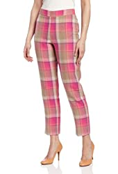 Pendleton Women's Palisades Plaid Crop Pants
