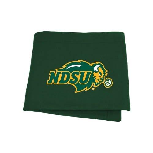 North Dakota State Dark Green Sweatshirt Blanket 'Ndsu Bison' front-955149