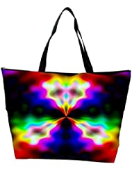 Snoogg Abstract Artistic Design Designer Waterproof Bag Made Of High Strength Nylon